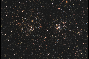 NGC 869 & NGC 884, Double Cluster in Perseus