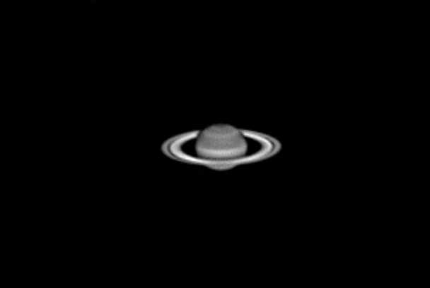 Saturn (Black and White)