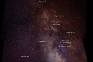 Milky Way - South Region, From Sagitarius to Scutum